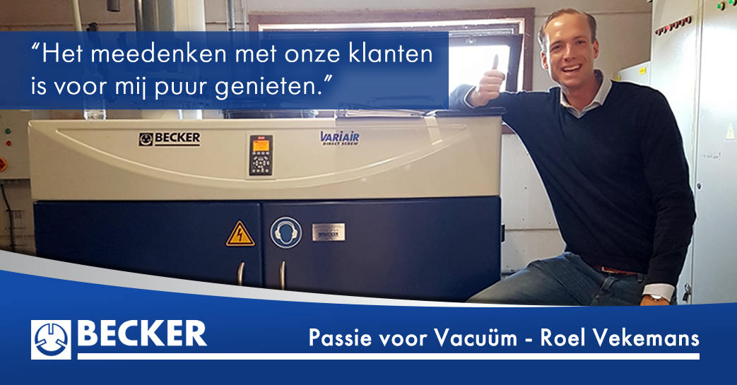 BECKER Passie voor Vacuum – roel vekemans
