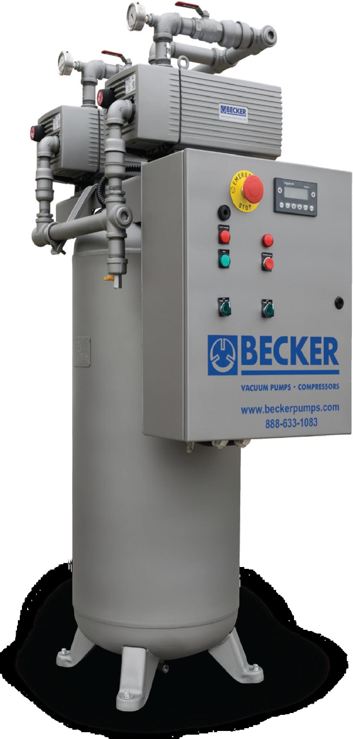 Becker Medische technologie Klantgerichte Vacuümoplossingen