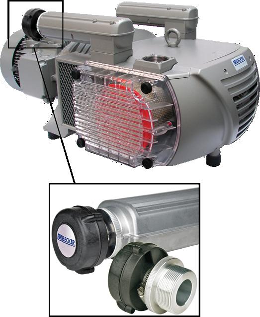 Het innovatieve Becker BRD-60 cycloonfilter