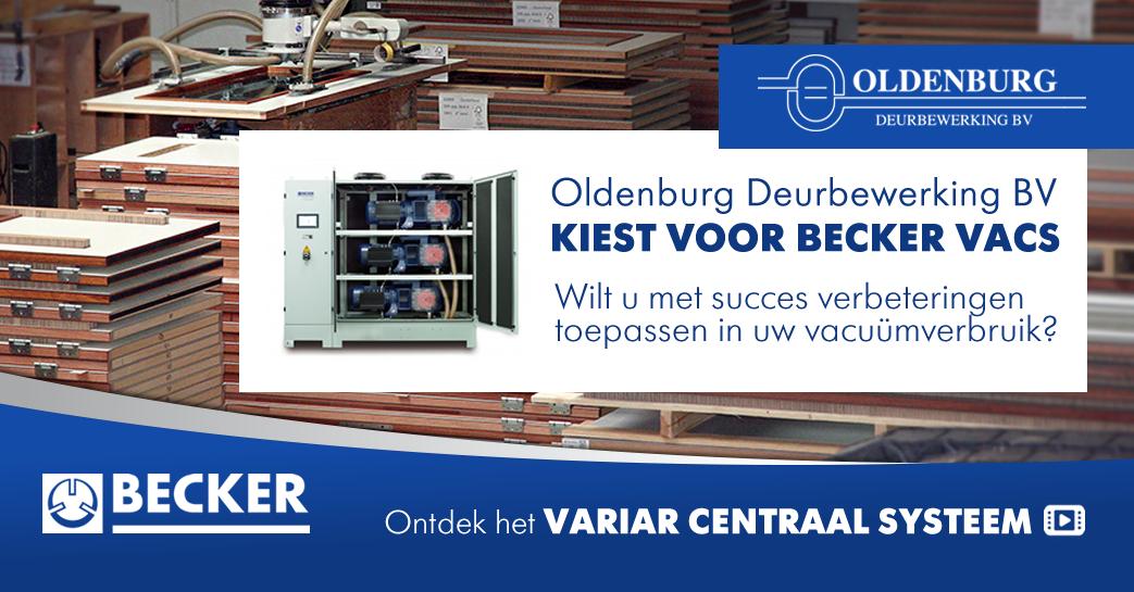 Oldenburg Deurbewerking BV kiest voor BECKER VACS