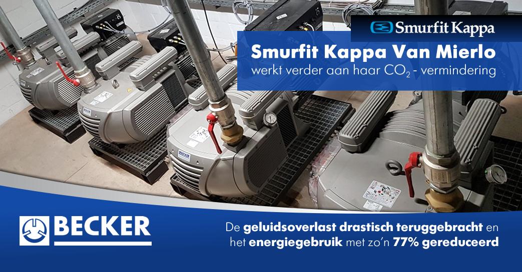 Smurfit Kappa Van Mierlo Turnhout werkt verder aan haar CO₂ – vermindering!