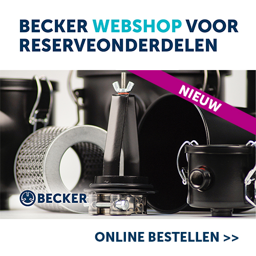 Becker webshop voor reserveonderdelen