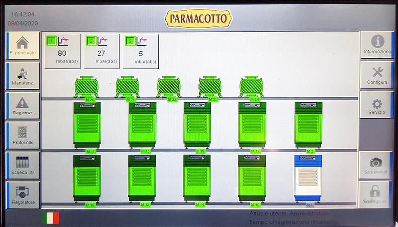 Parmacotta-BECKER-Centraal vacuumsysteem
